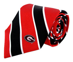 Georgia Bulldogs Repp Stripe Necktie - NCAA