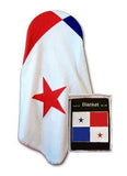 Panama Flag Fleece Blanket - 50