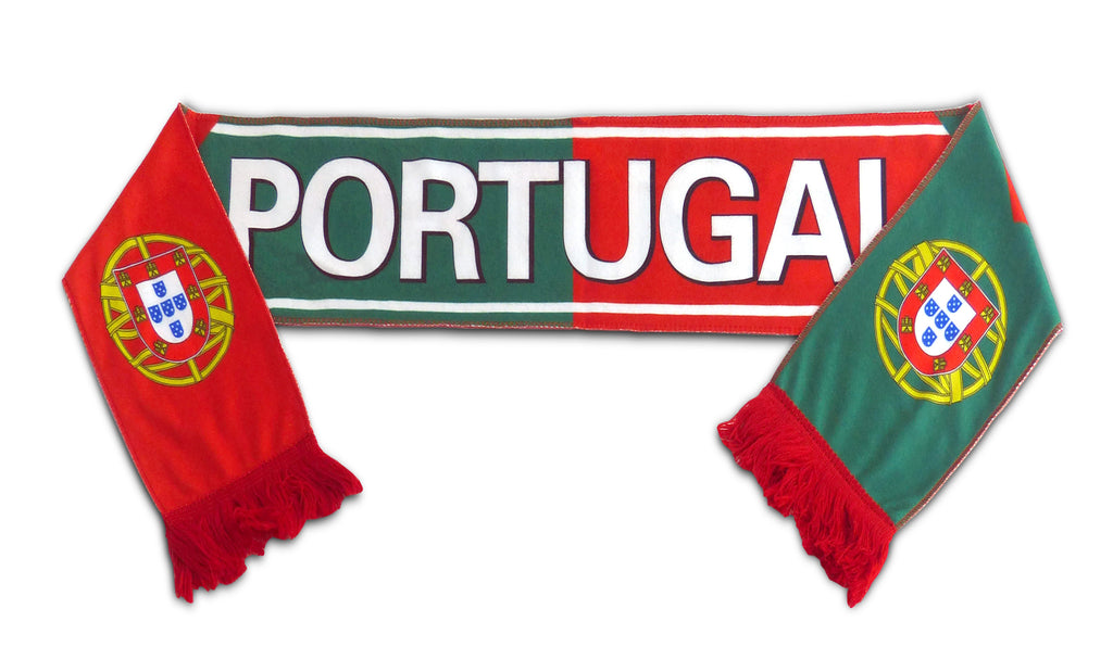 Portugal National Team Soccer Scarf (Alternate 2) - FIFA