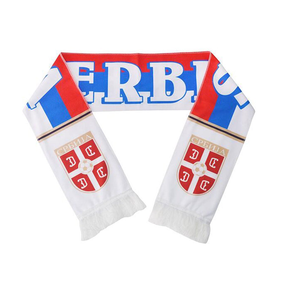 Serbia National Team Soccer Scarf - FIFA