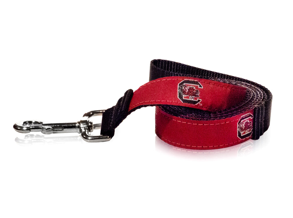 South Carolina Gamecocks Ribbon Dog Leash - NCAA