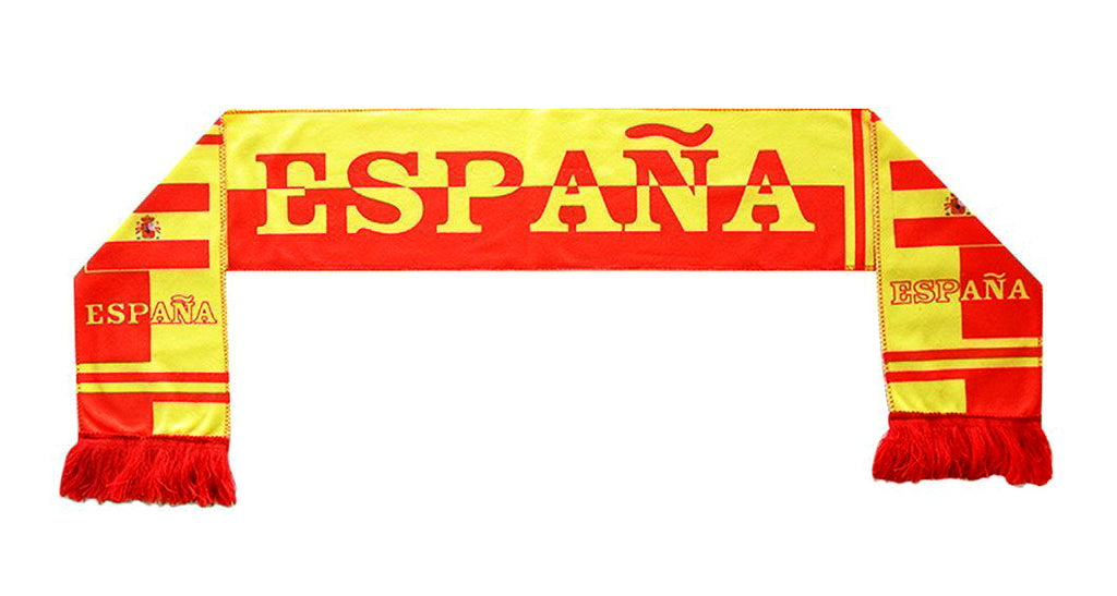 Spain National Team Soccer Scarf (Alternate 2) - FIFA
