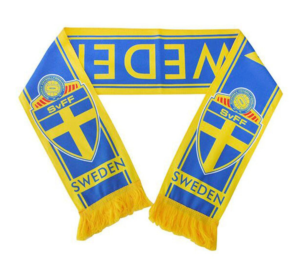 Sweden National Team Soccer Scarf - FIFA