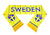 Sweden National Team Soccer Scarf (Alternate) - FIFA
