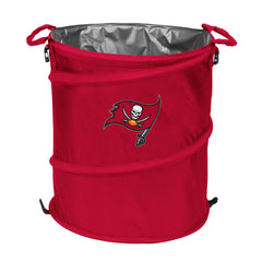 Tampa Bay Buccaneers 3-in-1 Collapsible Cooler, Trash Can or Laundry Hamper - NFL