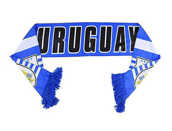 Uruguay National Team Soccer Scarf (Alternate) - FIFA