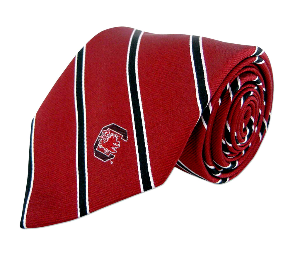 South Carolina Gamecocks Thin Stripe Necktie - NCAA