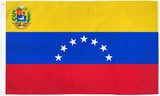 Venezuela Flags - Polyester - Assorted Sizes