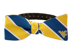 West Virginia Mountaineers Woven Silk Bow Tie - NCAA