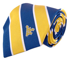 West Virginia Mountaineers Repp Stripe Necktie - NCAA