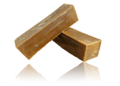 Pure Dark Beeswax Blocks 1kg