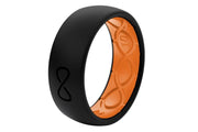 Solid Black/Orange
