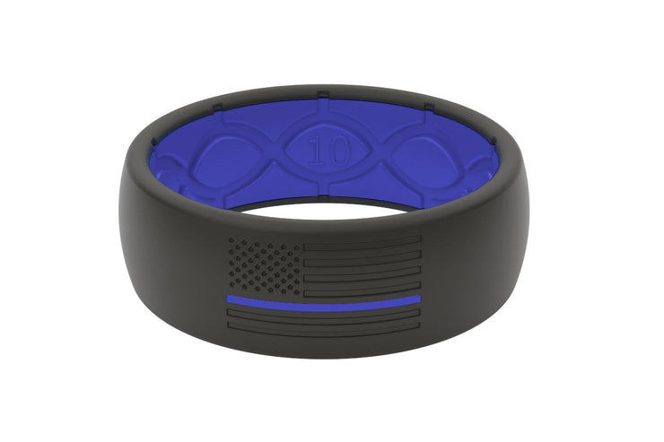 Hero Protector Black/Blue Line