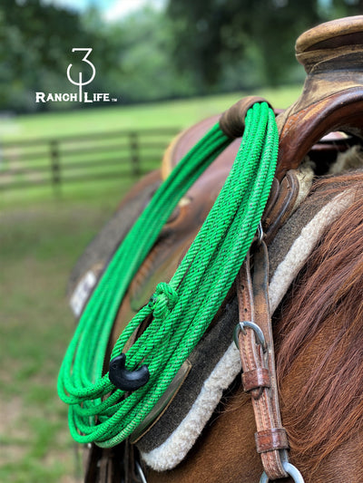 Green Chaos 5 Strand Braided Core, 5/16""