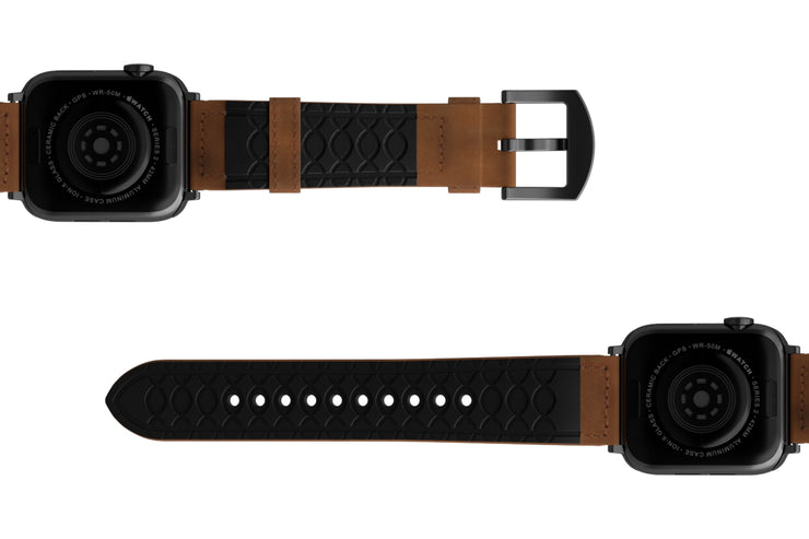 Groove Life: Vulcan Leather Apple Watch Bands