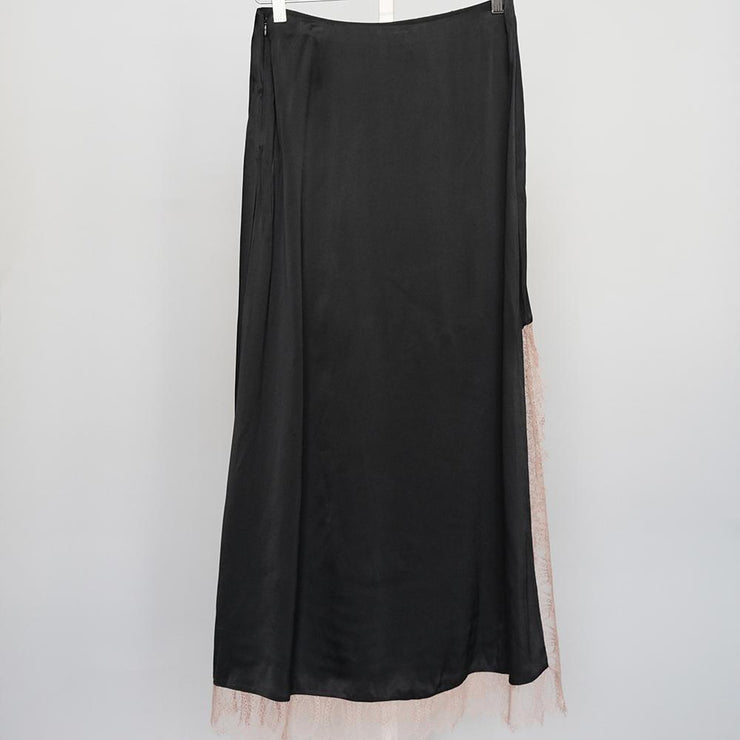 Satin High Slit Skirt - by 3.1 Phillip Lim - Elisa B.