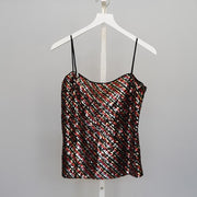 Sequin Bias Cami - by Milly - Elisa B.