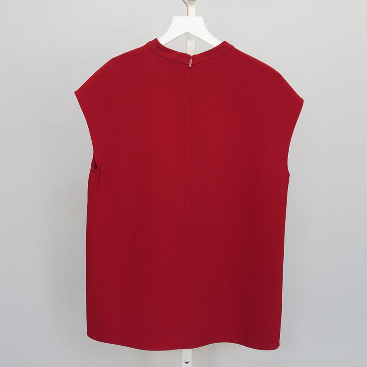 Mockneck Sleeveless Top - by Tibi - Elisa B.
