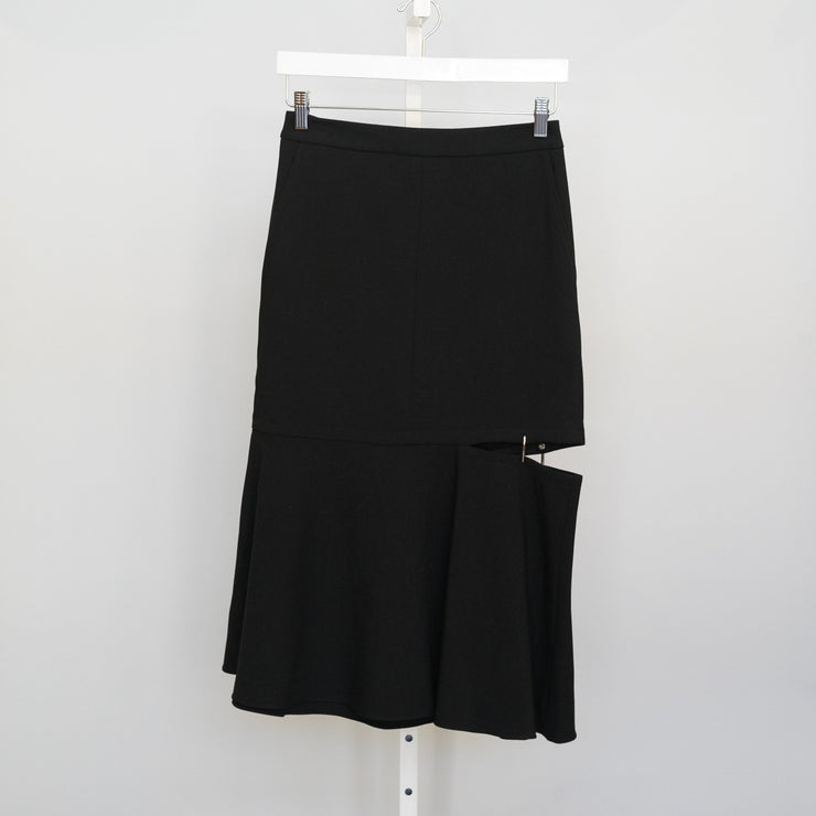 Anson Skirt With Cut Out Hem
