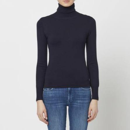 Cummings Turtleneck Sweater - by John & Jenn - Elisa B.