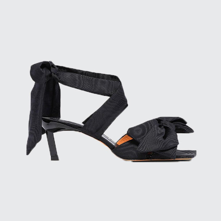 Heeled Bow Sandal