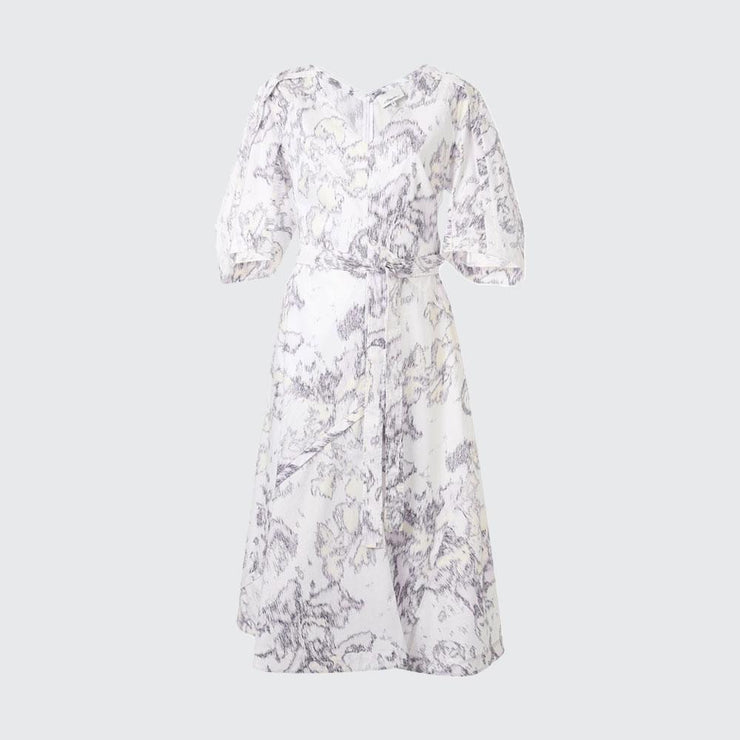Abstract Daisy Poplin Dress - by 3.1 Phillip Lim - Elisa B.