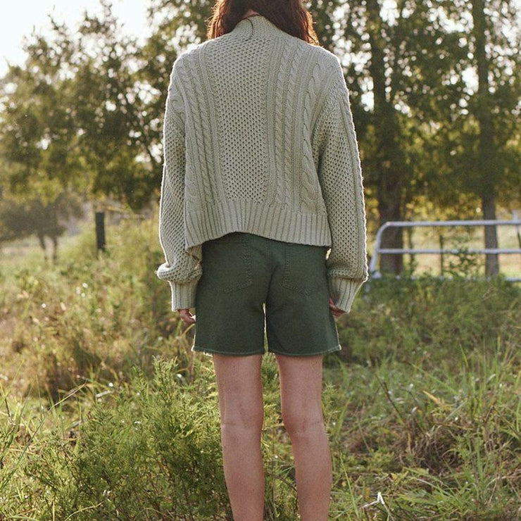 The Cable Montana Cardigan - by The Great - Elisa B.