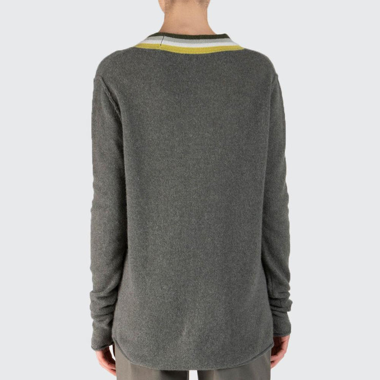 Cashmere Deep Vneck Sweater