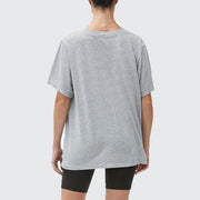 Cyrus Oversized V-Neck Top