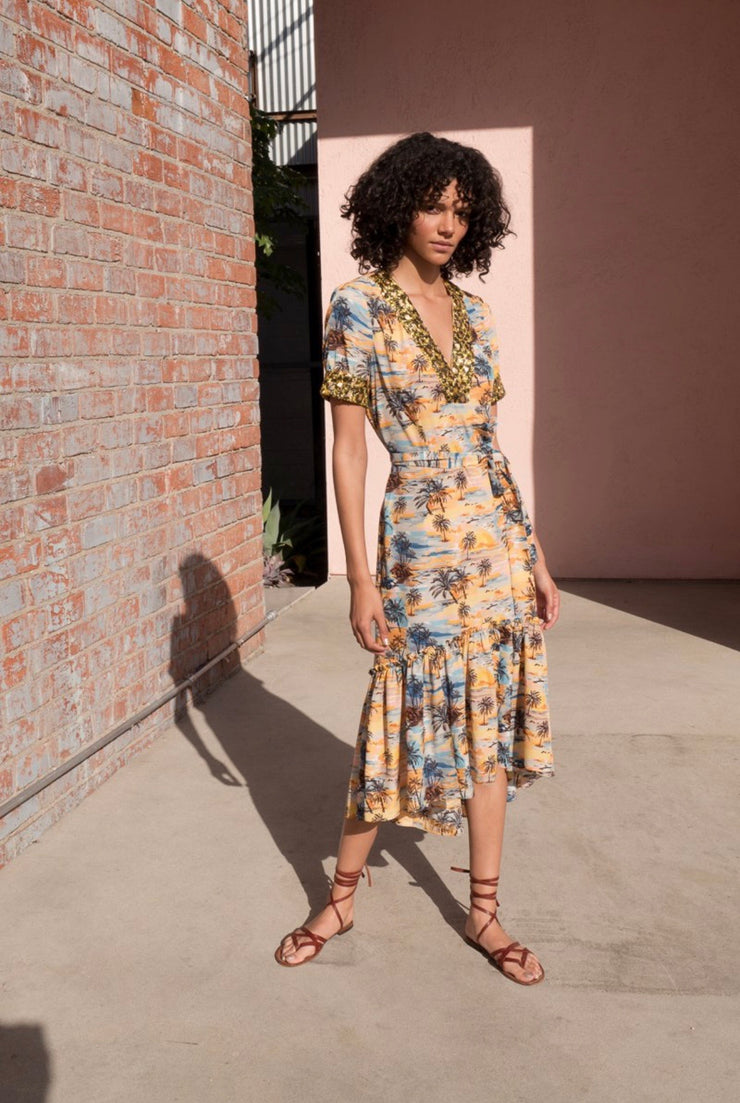 Laurel Canyon Midi Dress