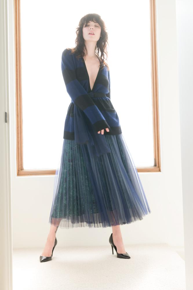 Hidden Gems Pleated Skirt