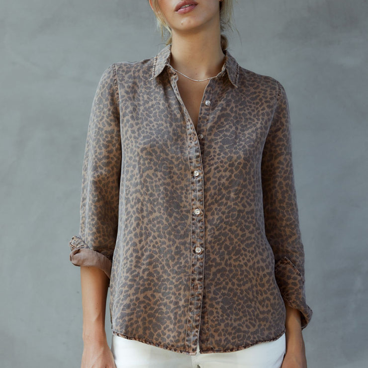 Mini Leopard Basic Shirt