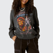 Ziggy Stardust Crop Thermal T
