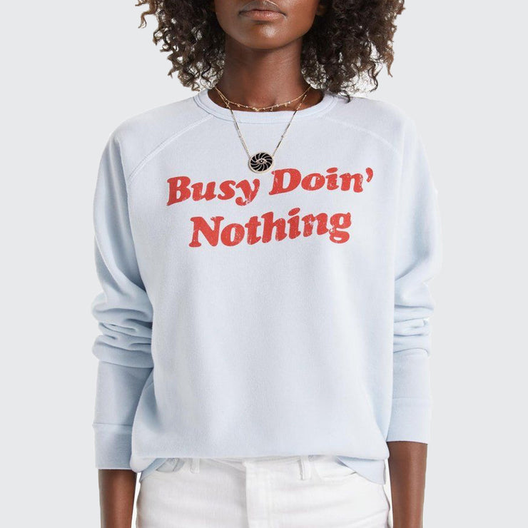 The Hugger-busy Doing Nothing