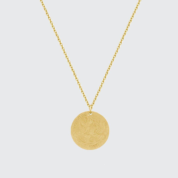 Monte Carlo Coin Necklace - Elisa B.