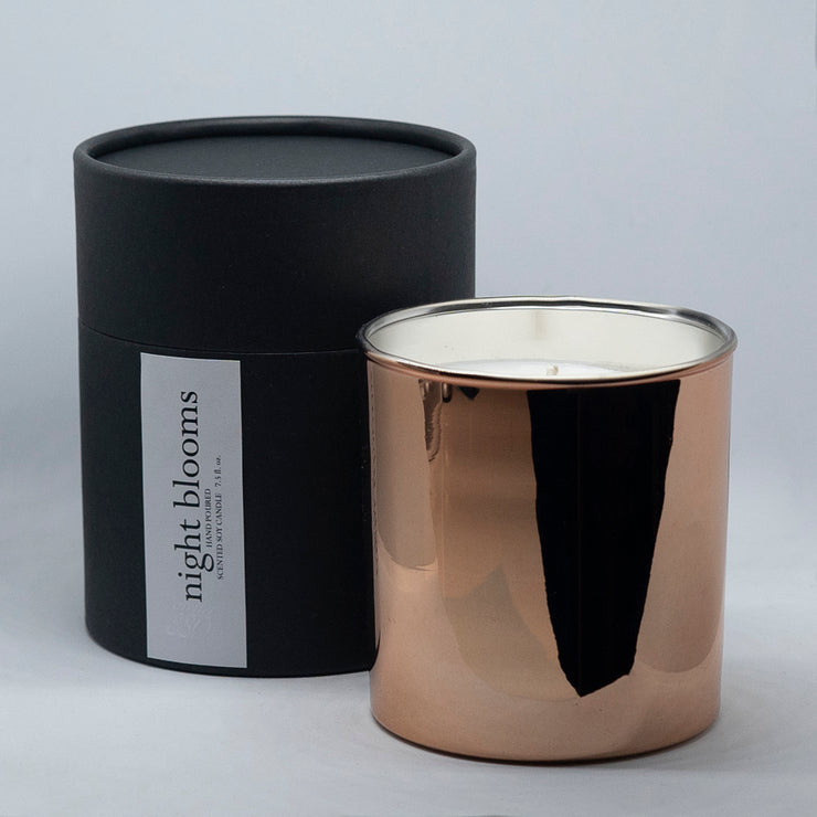 Minimalist Rose Gold Candle