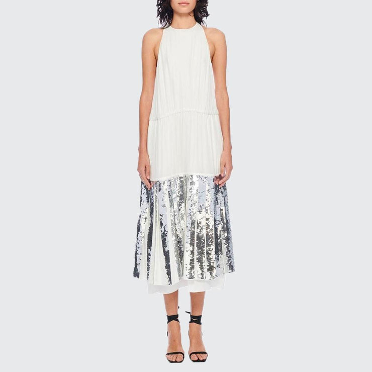 Claude Sequins Halter Dress - by Tibi - Elisa B.