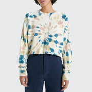 The Loafer Crop Fray Sweatshirt
