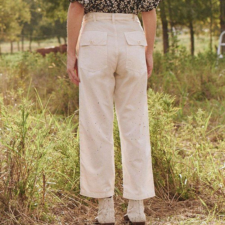 The Vintage Army Pant - by The Great - Elisa B.