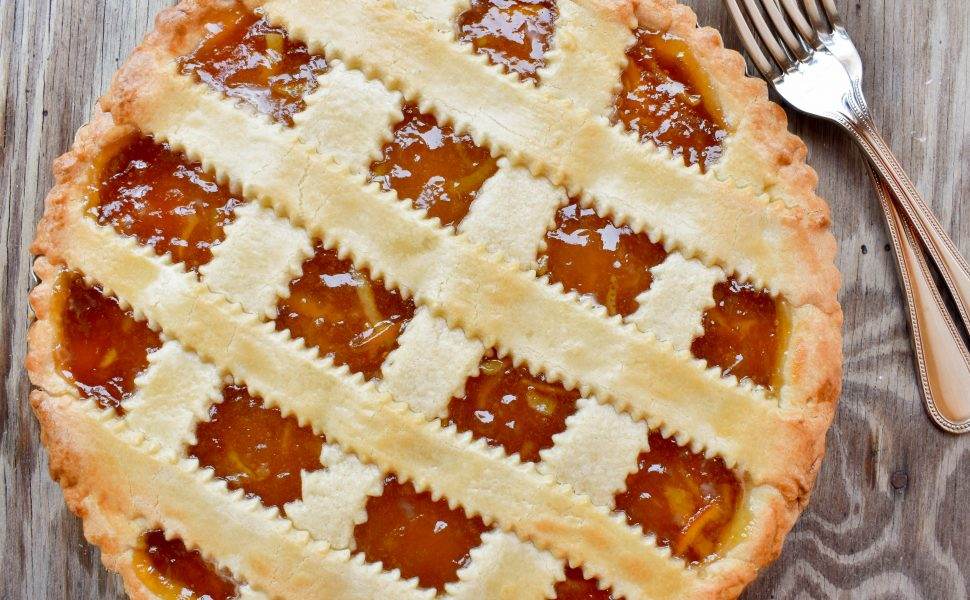 Cream Cheese Crostata w/ Mother's Cranberry Orange Marmalade