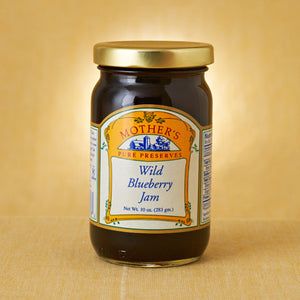 Wild Blueberry Jam (3x, 12 Oz.)