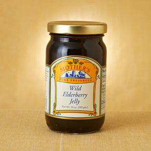 Wild Elderberry Jelly (3x, 12 Oz.)