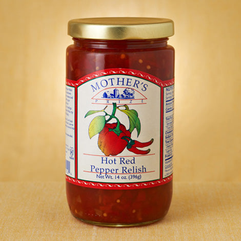 Hot Red Pepper Relish (3x, 12 Oz.)