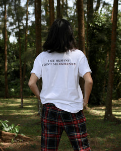 HUMANITY Tee - White : SOLD OUT