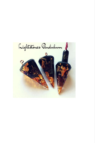 Lightstones Orgone pendulum, for dowsers