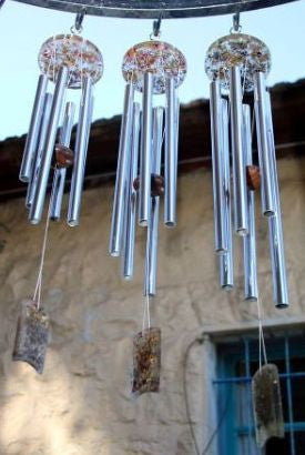 Small Orgone tuned Wind Chime