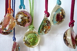 Custom Lightdrop - Lightstones Orgone , orgonite, EMF protection, orgone pendants, orgone devices, energy jewelry