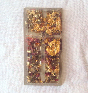 Orgone tile, the protection of your home entrance - Lightstones Orgone , orgonite, EMF protection, orgone pendants, orgone devices, energy jewelry