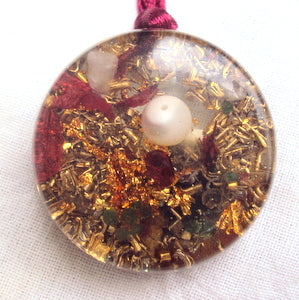 Rebirth Orgone Pendant - Lightstones Orgone , orgonite, EMF protection, orgone pendants, orgone devices, energy jewelry