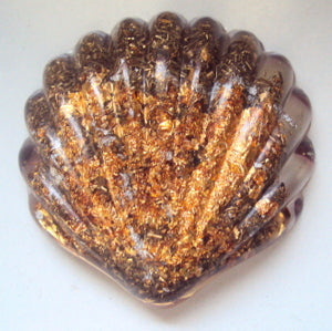 Custom orgone Seashell